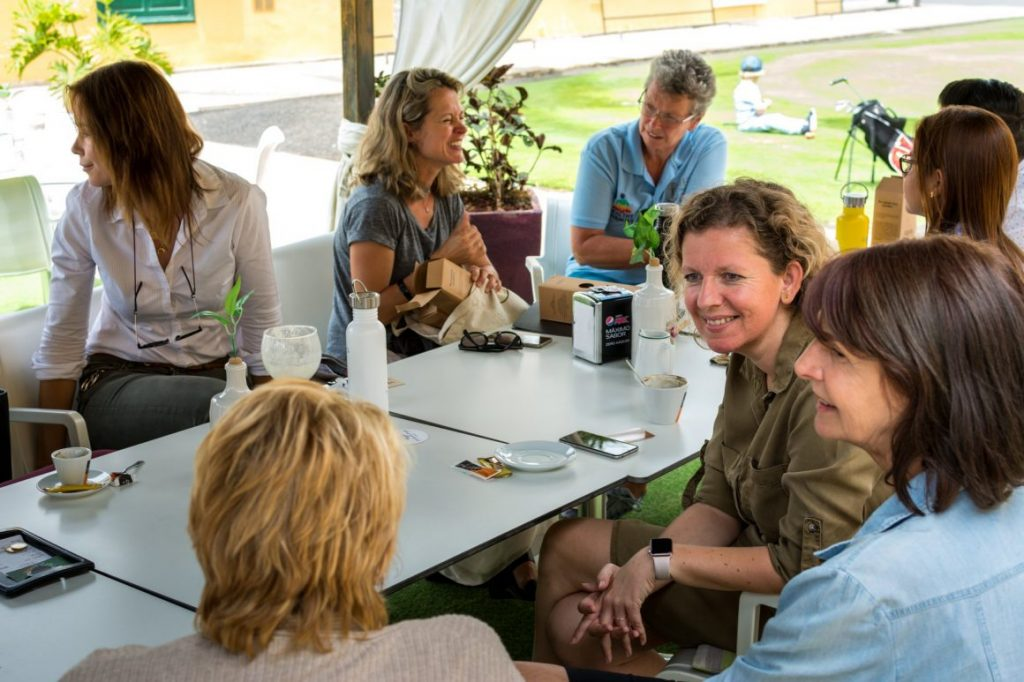 sustainable networking Canary Green