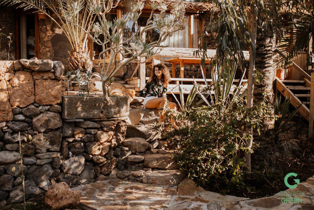 Cristoforo An oasis in Tenerife Canary Green