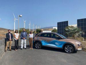 SeaFuel Hydrogen Hyundai Car