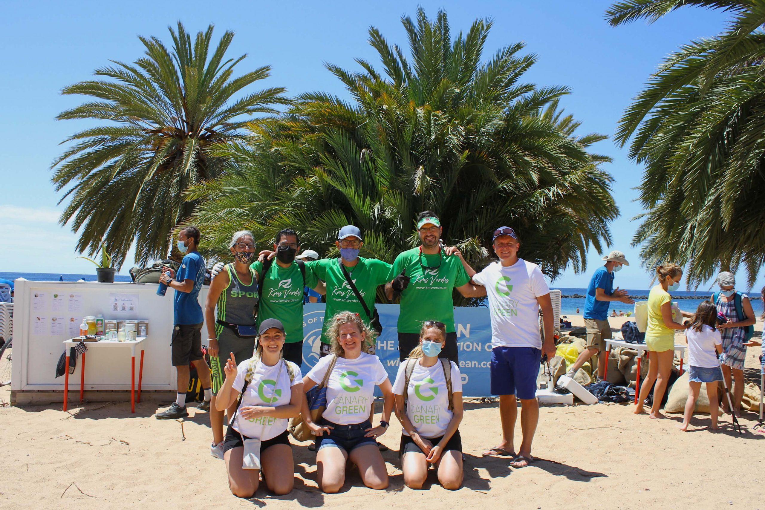 Beach clean up Las Terasitas