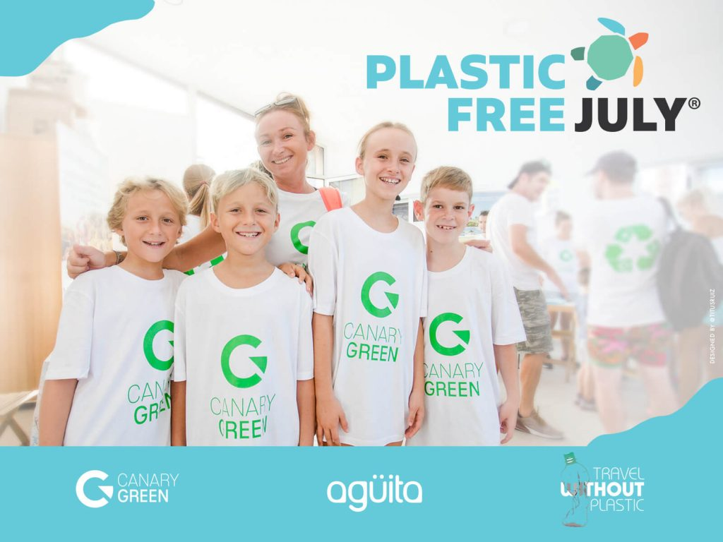Plastic free july Canary Green