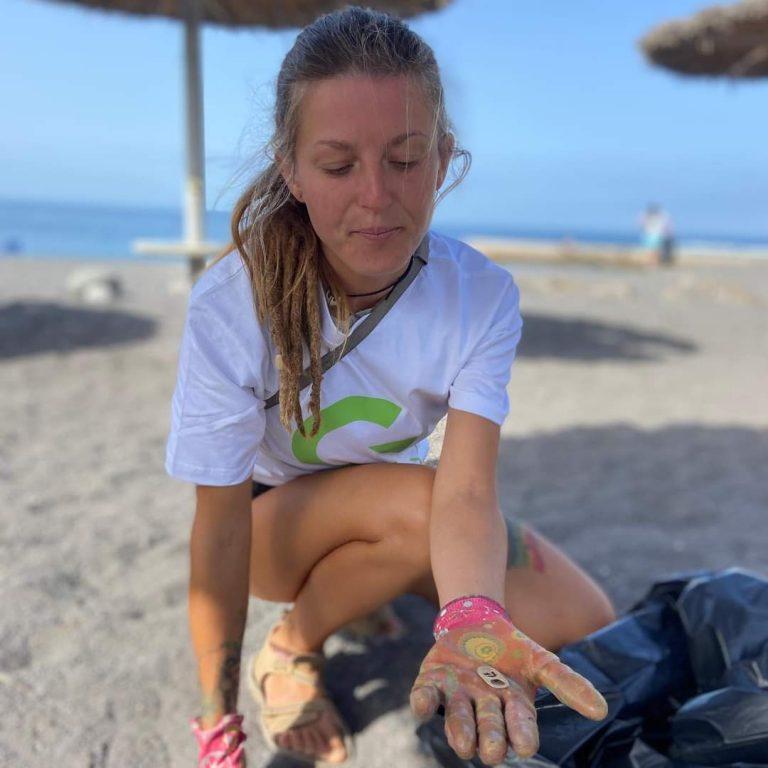 Beach cleaning Callao