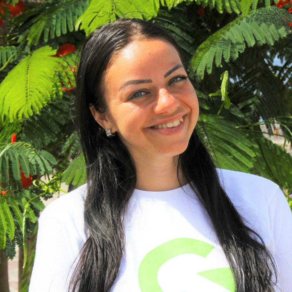NICOLE ARANGO LANG Canary Green
