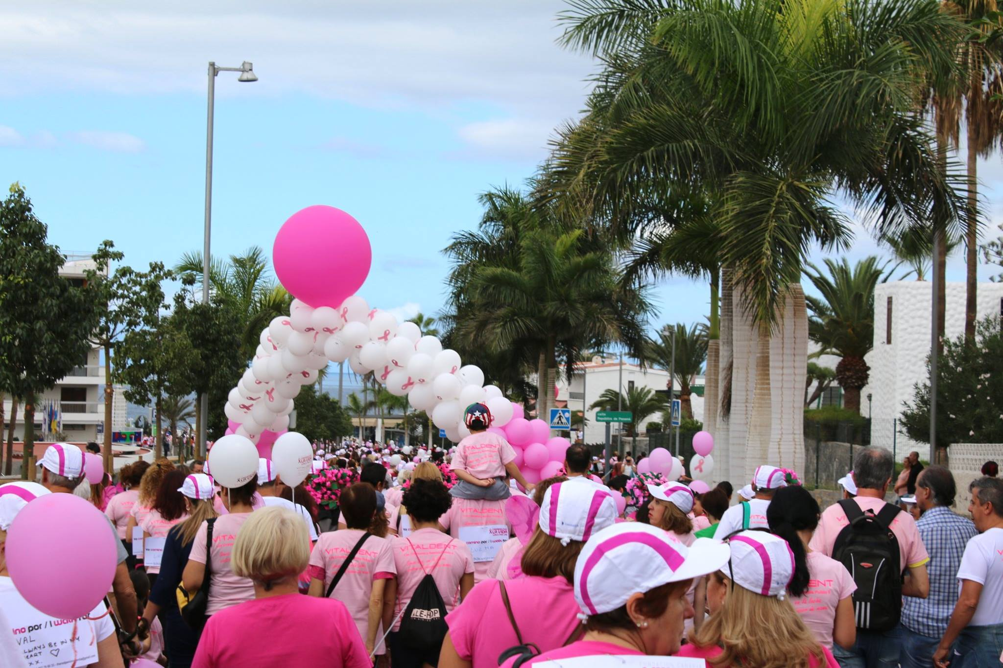 Walk for Life Tenerife in 2017