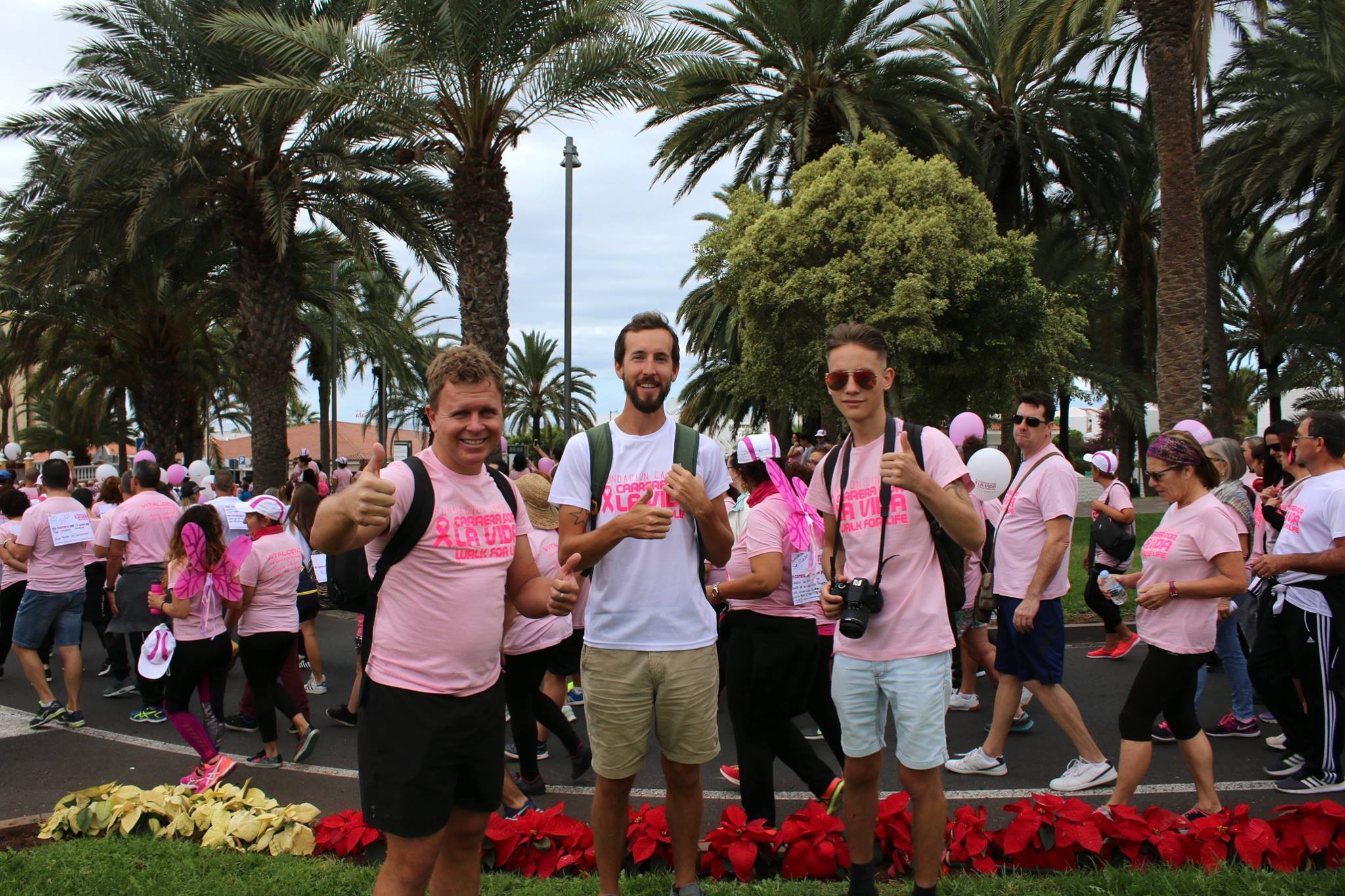 Walk for Life Tenerife in 2017 with Canary Green Team
