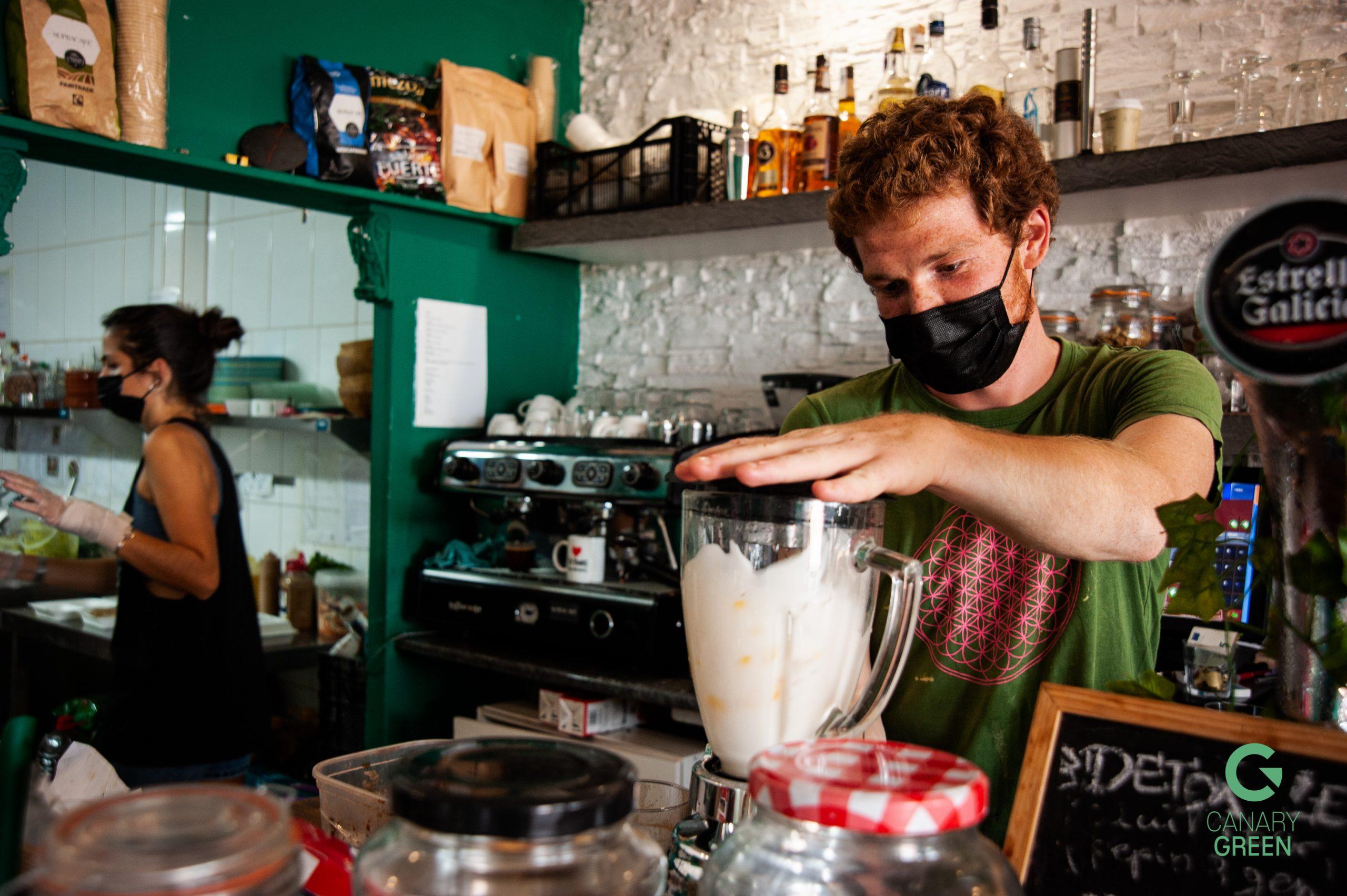 Vegan and Vegetarian Meals in Tenerife, Tierra Cafe
