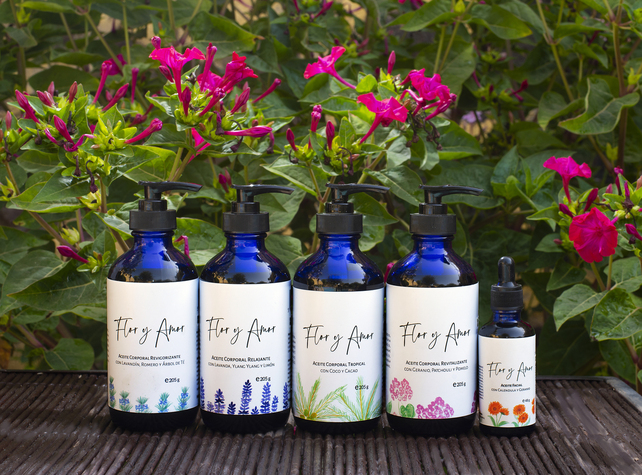Flor y Amor - sustainable & vegan cosmetics products made in Tenerife, Canary Islands