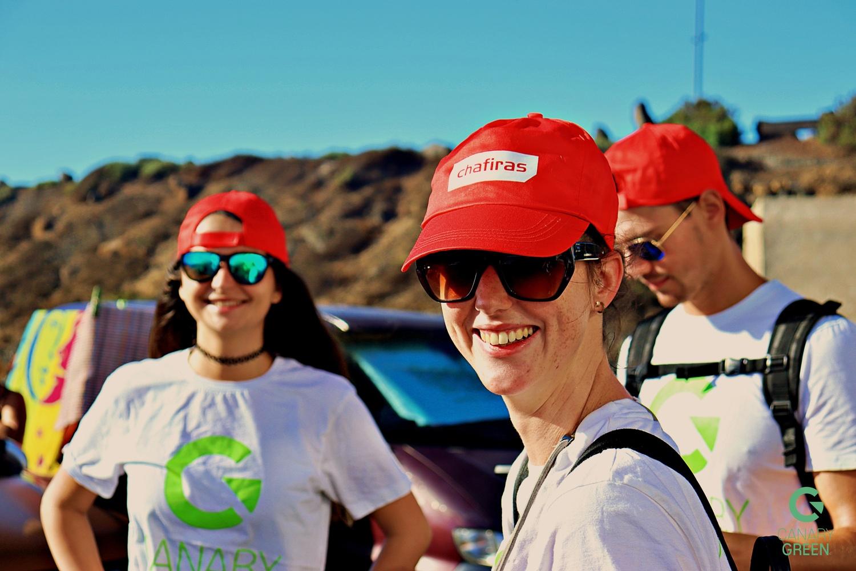 Beach Clean Up, Playa de Lima, Tenerife with Canary Green, Ecoimplicados and Chafiras