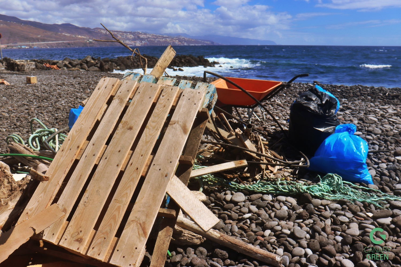 Beach Clean Up, Playa de Lima, Tenerife